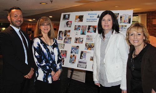 Dumont High School's Wellness Fair was among the winning programs.