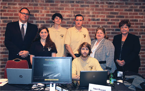 PALS, the Panther Assisted Learning Software program at Point Pleasant Borough High School, paired up computer software engineering students with their special-needs peers.