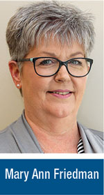 Mary Ann Friedman, NJSBA Field Service Representative