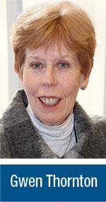 Gwen Thornton, NJSBA Field Service Representative