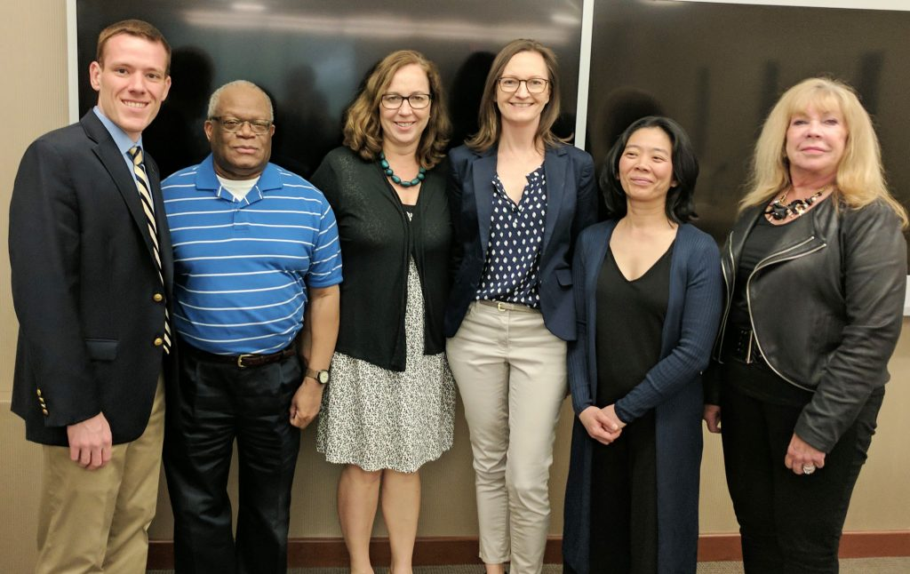 The NJSBA Legislative Committee welcomed new members