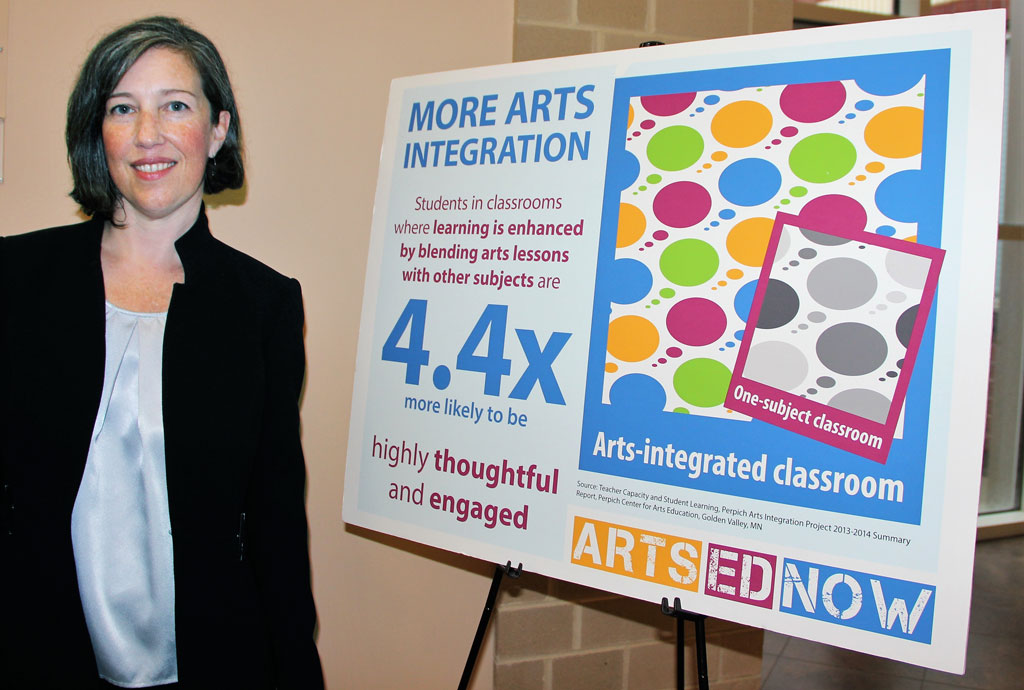 "Kira Rizzuto, program manager, ARTS ED NJ, said the Sept. 12 event at the NJSPA headquarters offered the opportunity to ""shine the spotlight on our teen arts festival and the value of arts learning for students throughout New Jersey."""