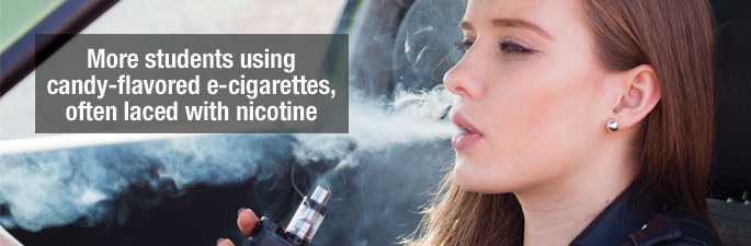 School Districts Warning Parents about Dangers of Vaping - New