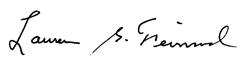 Lawrence Feinsod signature