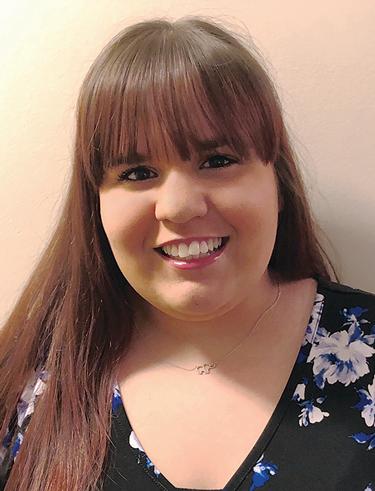 Marissa Realdine, a senior at Stockton University.